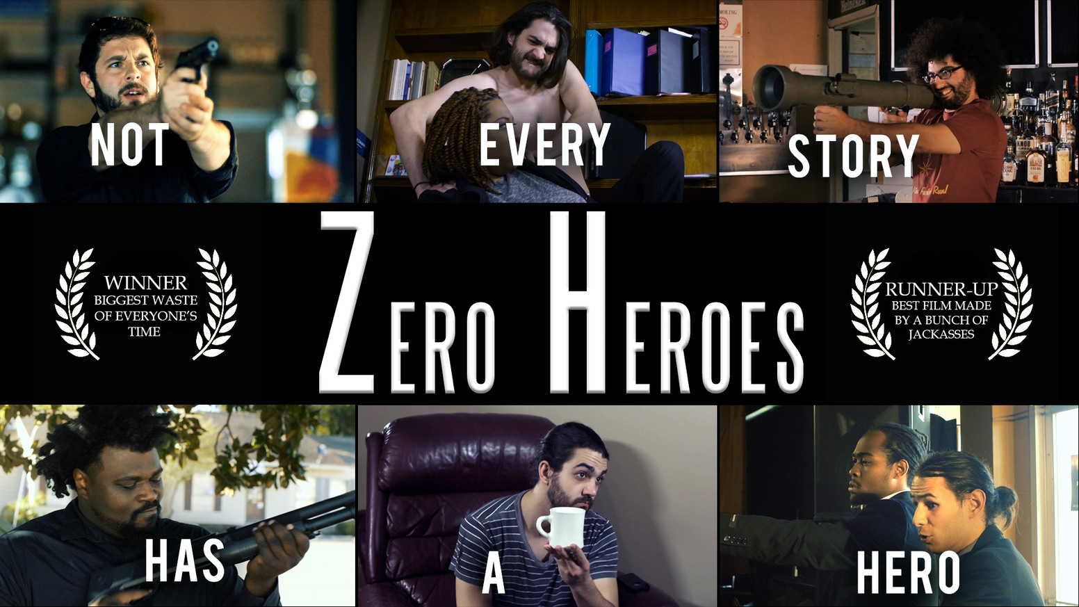 We are looking for interested donors to help our short film, Zero Heroes, with its festival run.
