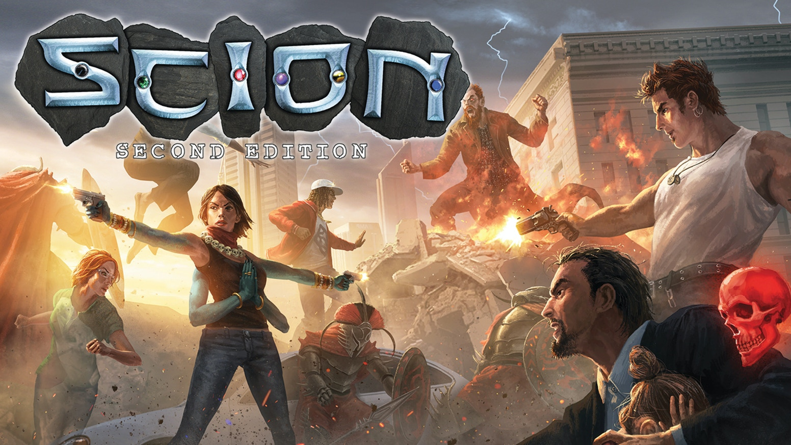 "Even if you missed this KS, you can still ""pre-order"" Scion 2e books & dice here:"