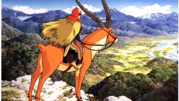 Studio Ghibli's Princess Mononoke (1998)