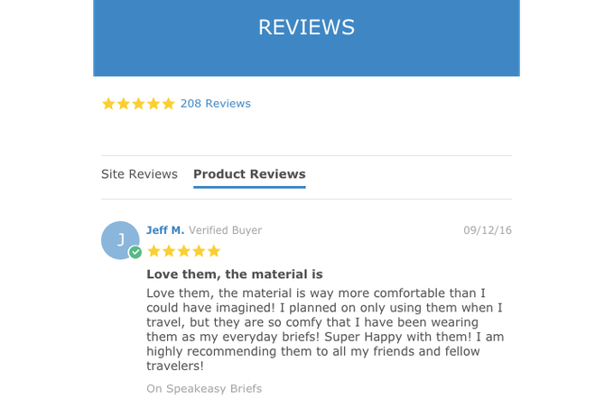 What Customers From Our Website Are Saying!