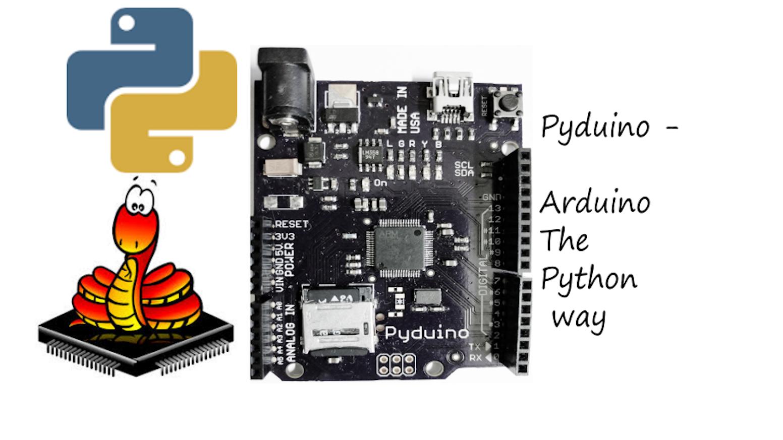 Pyduino - Arduino the python way by Nitin » Community — Kickstarter