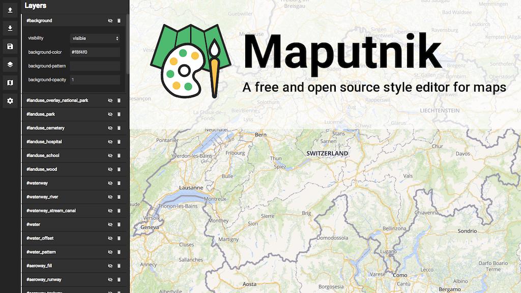 Maputnik - Visual Map Editor for Mapbox GL project video thumbnail