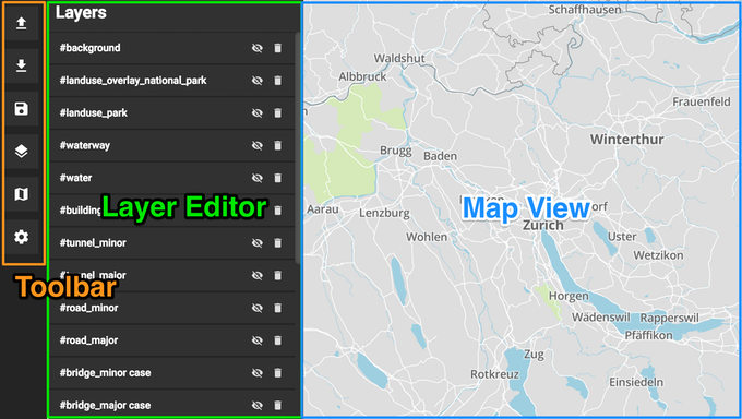 Maputnik - Visual Map Editor for Mapbox GL by Lukas