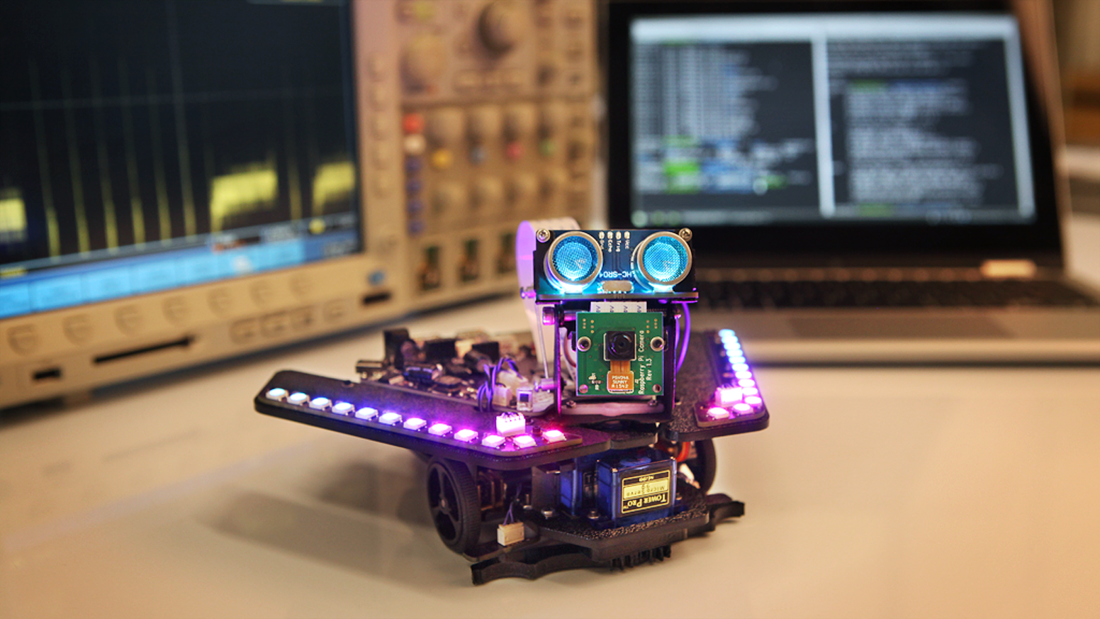 Spirit Rover - Learn Raspberry Pi and Arduino the fun way