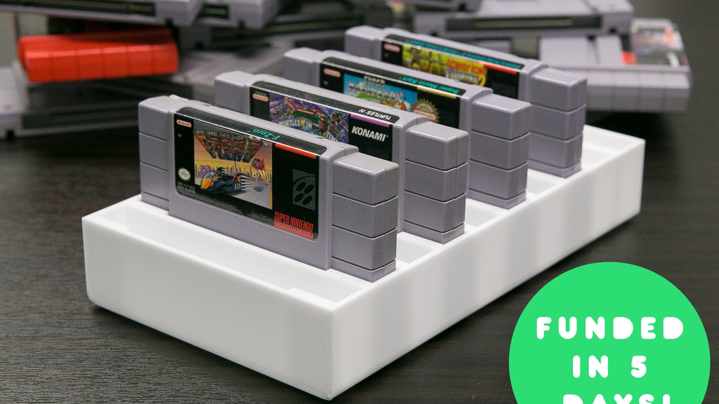 BitLounger 16BITSN SNES Cartridge Organizer project video thumbnail