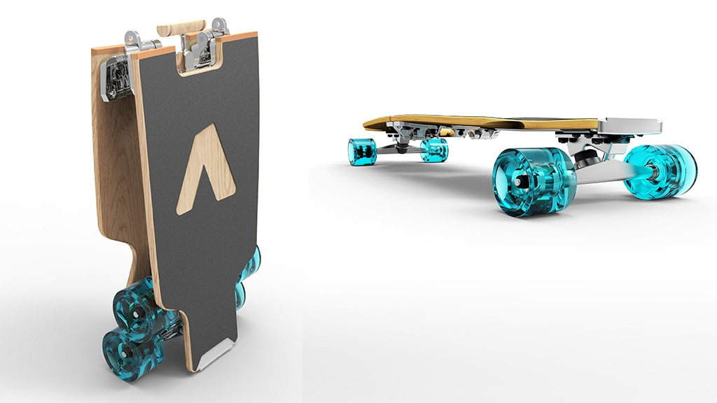 BoardUp: The World's First Self-Folding Longboard project video thumbnail