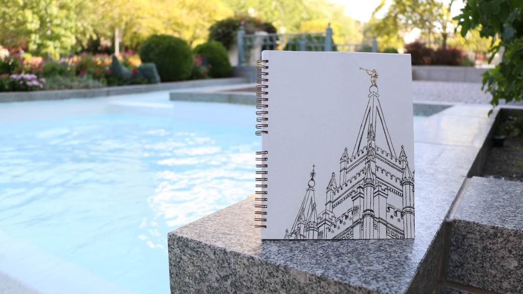 LDS Temples Adult Coloring Book by ARTIST TO ARTIST project video thumbnail