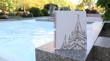 LDS Temples Adult Coloring Book by ARTIST TO ARTIST