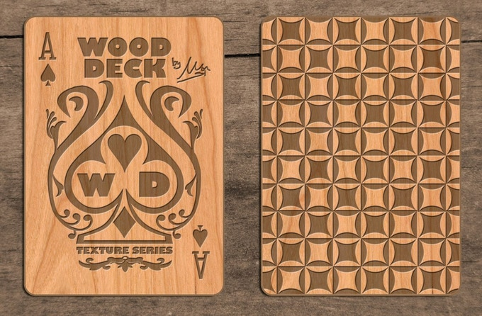 LIMITED WOOD CARD