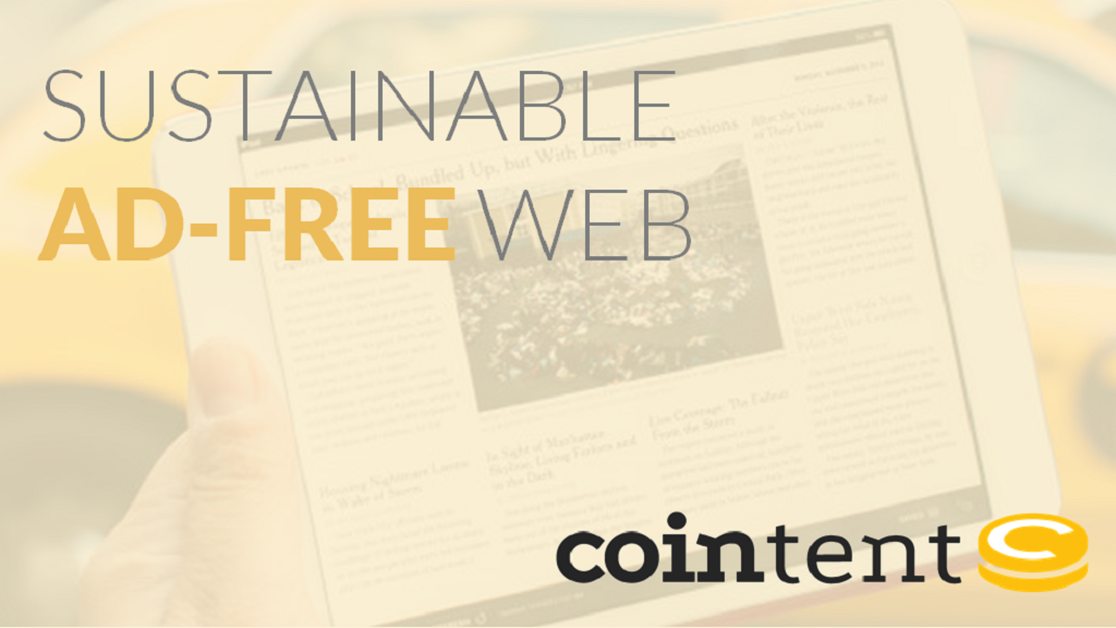 Project image for CoinTent: Sustainable Ad-Free Web (Canceled)