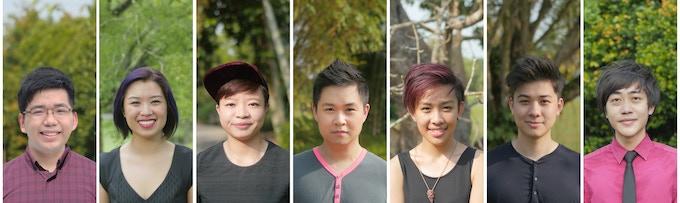 L to R: Kevin, Gen, Yvonne, Cheeyang, Jean, Ale, Bryant