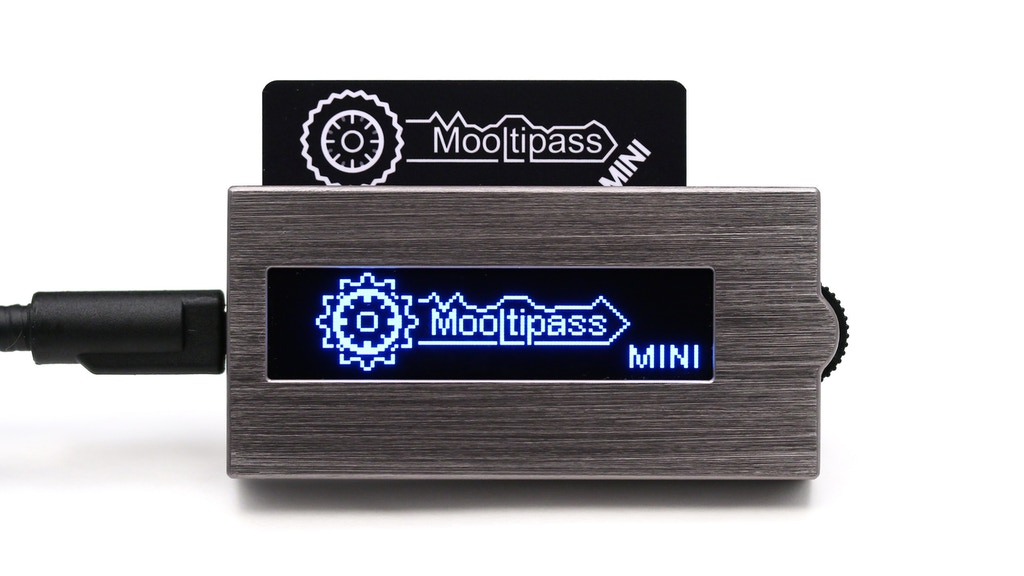 Mooltipass Mini - Your Passwords On The Go! project video thumbnail