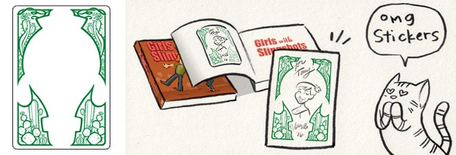 OMG BOOKPLATES (they're only $10 for two!)