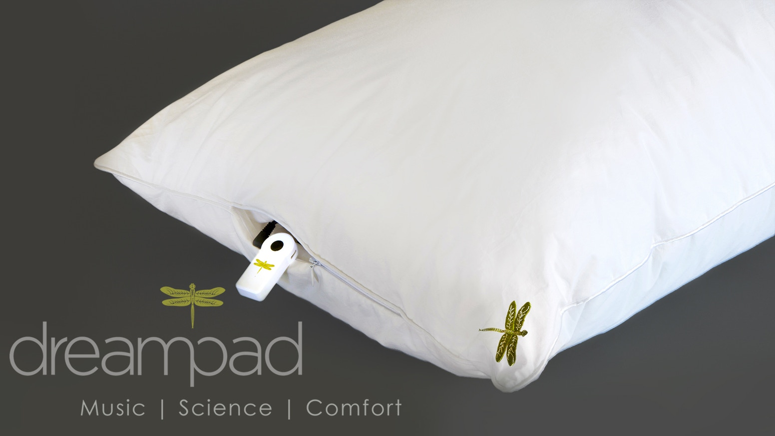 Dreampad Pillow: Reduce Stress  Improve Sleep  Guaranteed
