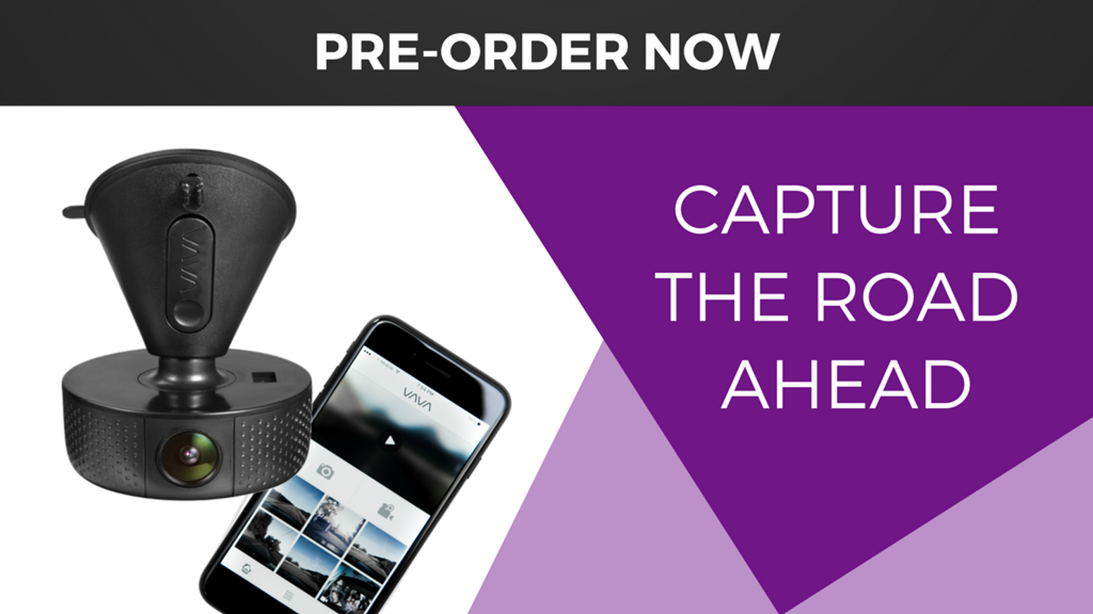 Meet the VAVA Dash Cam - the most versatile car dash camera yet. Do and see more on the road.