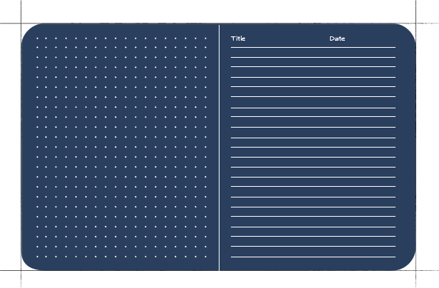 New Page Layout Choice - Dot Grid/Ruled