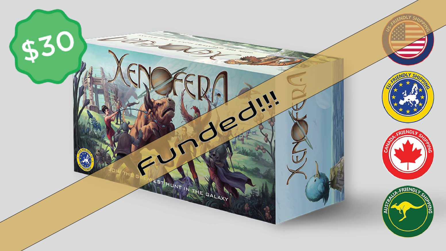 Want to get in on the next Hunt?  Orders are now being accepted on Xenofera.com.