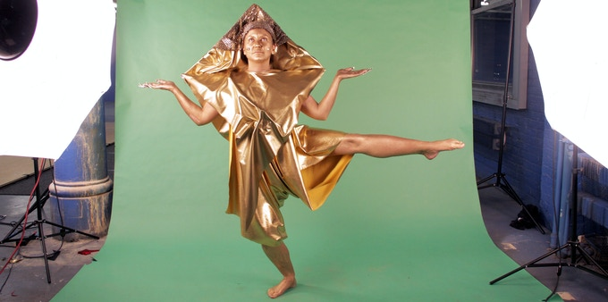 Gold Lady as Amy Khoshbin as Gold Lady