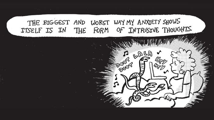 350+ pages of autobiographical comics about anxiety by 50 incredible indie cartoonists!