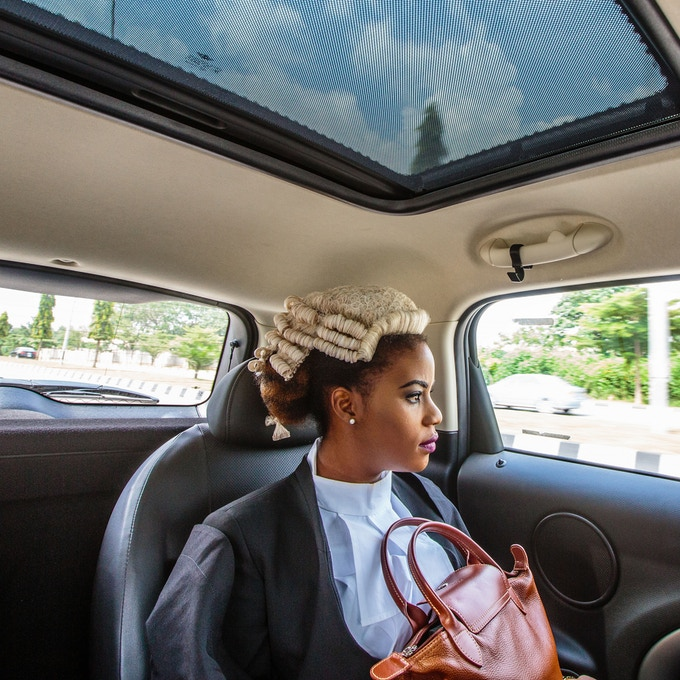 "10"" print option 4: Ginika is on her way to join thousands of Nigerian law graduates called to bar in Abuja, Nigeria. Photo by Tom Saater @tomsaater"