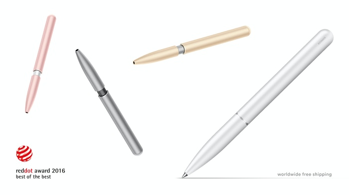 An award-winning pen featuring a revolutionary new mechanism with the most intuitive design. The perfect match for your Apple device!