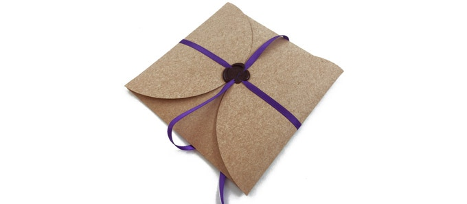 Enclosed with a custom order form, postage and a return envelope