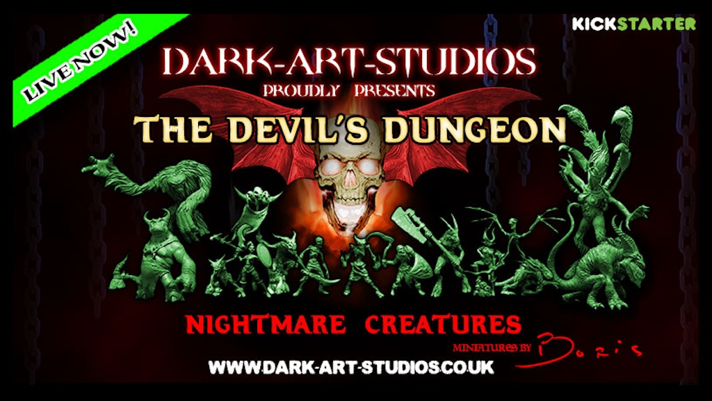 Devil's Dungeon - Nightmare Creatures project video thumbnail
