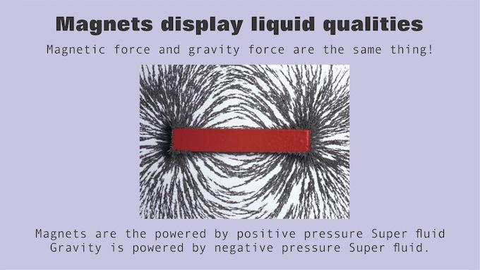 Magnet behaves like liquid