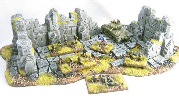 Project Updates for Resin Wargaming Scenery and Terrain