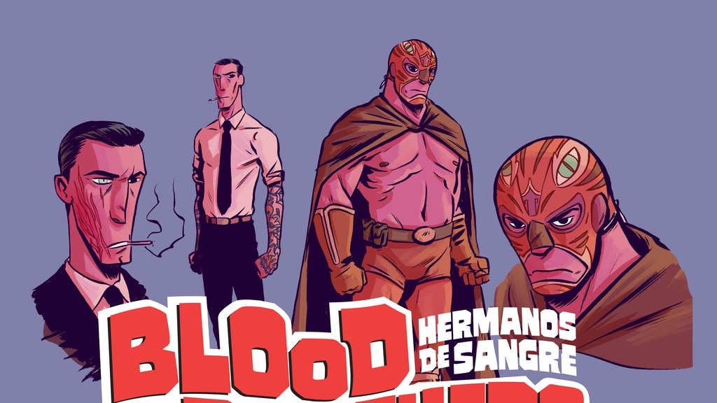 BLOOD BROTHERS (HERMANOS DE SANGRE) a supernatural pulp OGN project video thumbnail