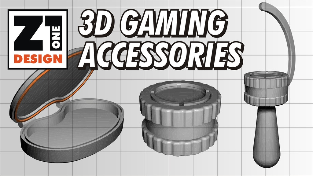 3D GAMING ACCESSORIES project video thumbnail