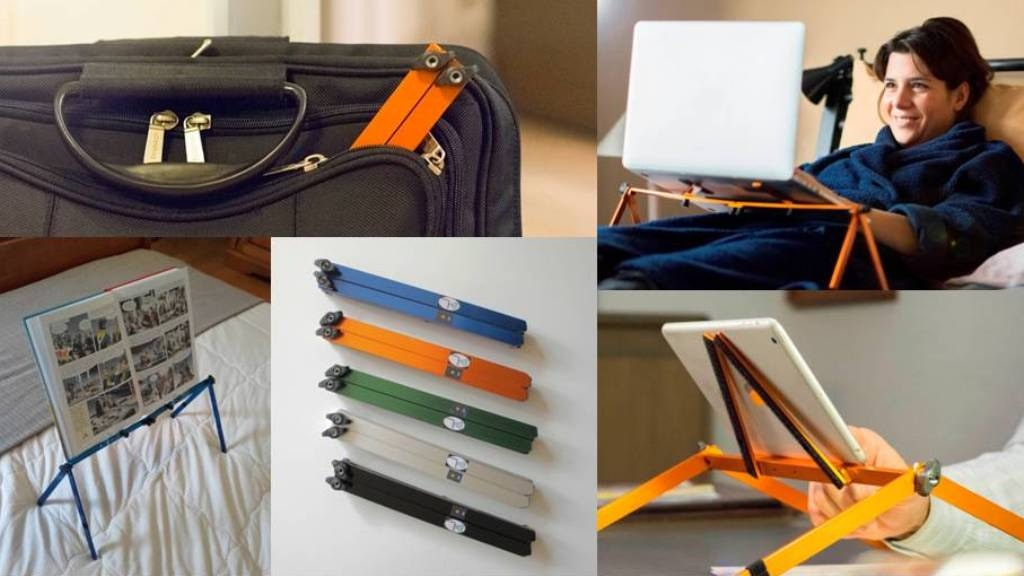 PlyGo, the cool, ergonomic, foldable & portable laptop stand project video thumbnail