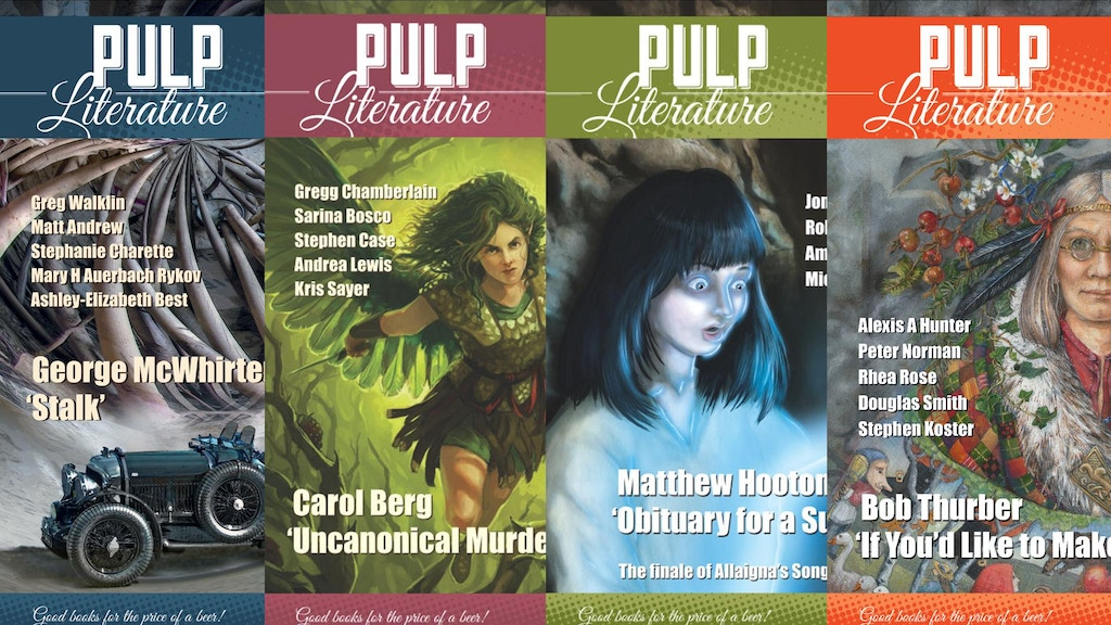 Pulp Literature: Something Novel! project video thumbnail