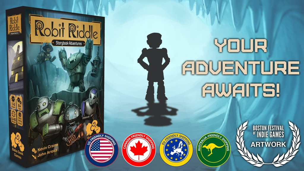 Robit Riddle: Storybook Adventures project video thumbnail