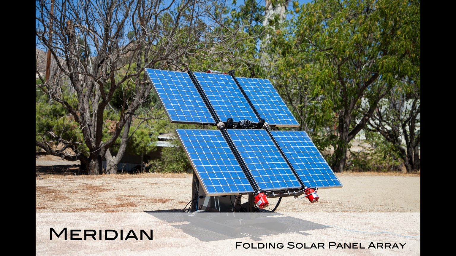 Meridian Folding Solar Panel System Power System By Esmo