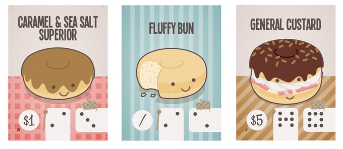 Heiko has ensured each card is eye-catching as well as functional and clear.