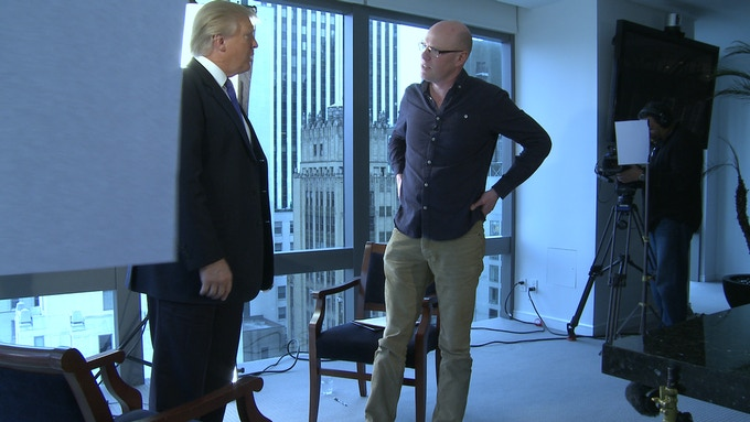 Donald Trump & Anthony Baxter in Trump Tower