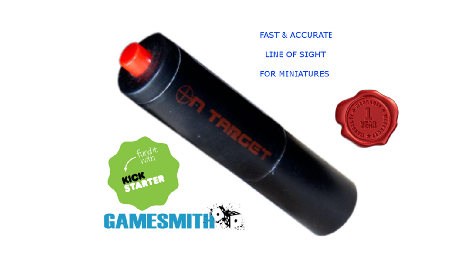 Gamesmith Green & Red Lasers for Miniatures & RPG Games- Fast, Accurate LoS, plus artful Dice Towers to store and roll all your dice!
