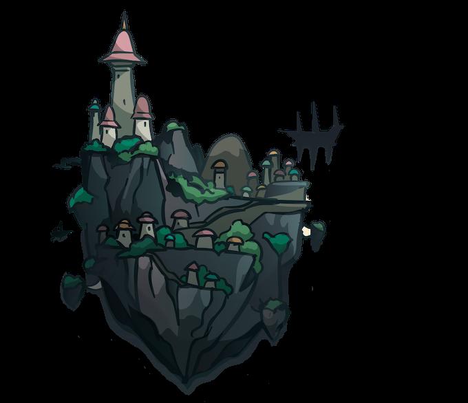 Inhabited Skyland