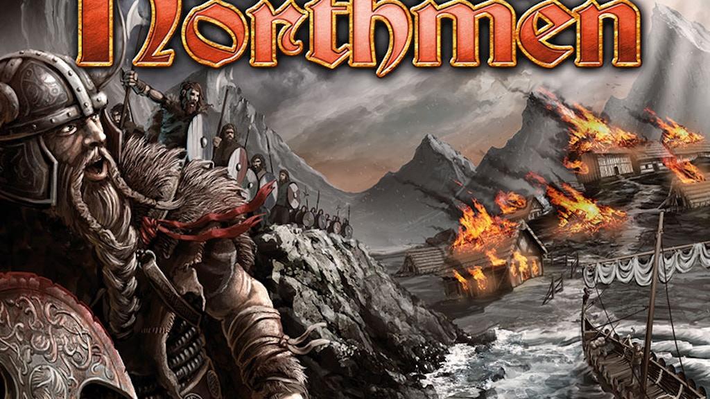 Saga of the Northmen board game project video thumbnail