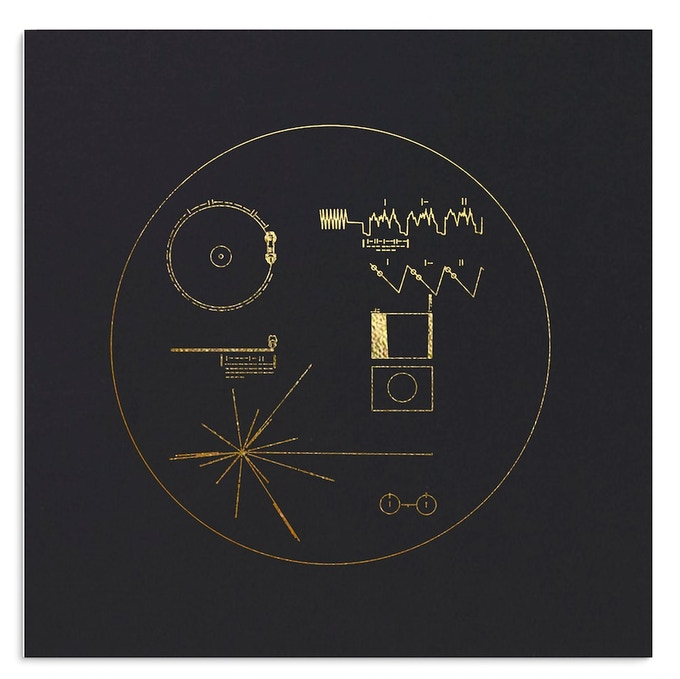 Voyager Golden Record 40th Anniversary Edition By Ozma