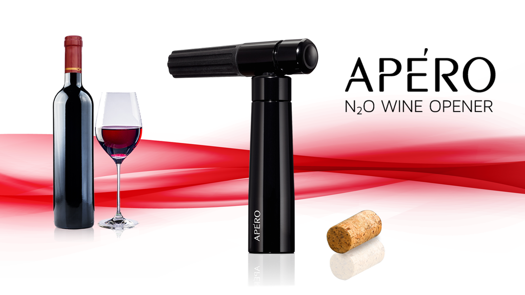 APÉRO - The World's First Nitrous Oxide Powered Wine Opener project video thumbnail