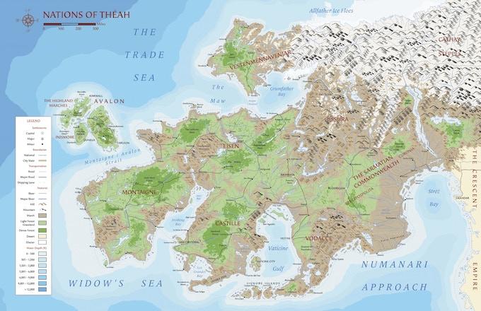 Map of Théah