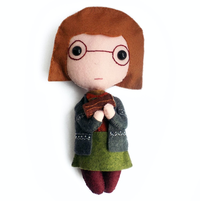 Log Lady doll