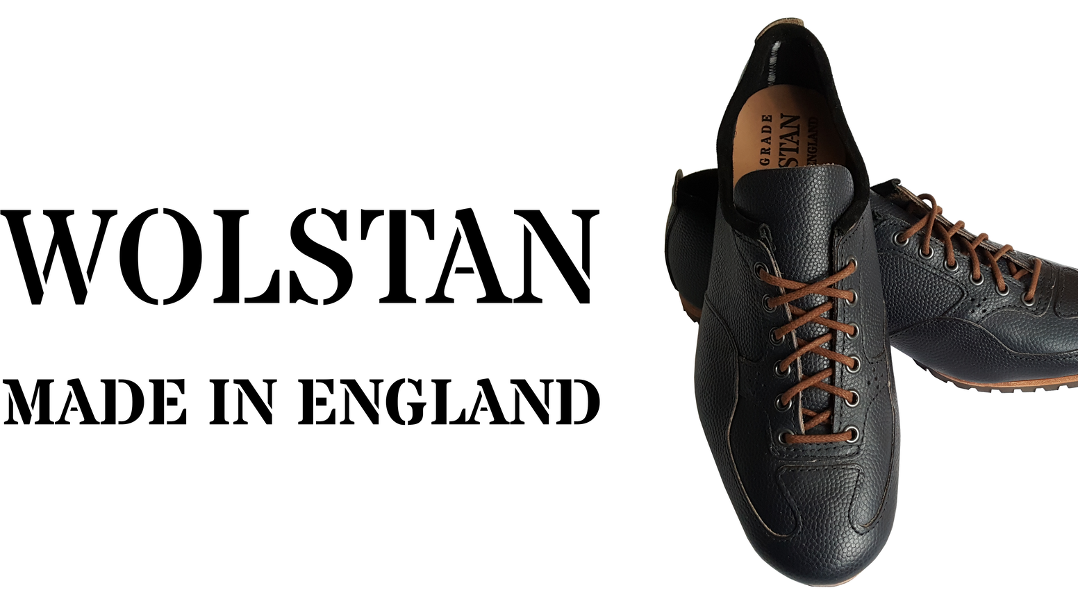 Wolstan Made In England Men's Shoes Limited Edition by