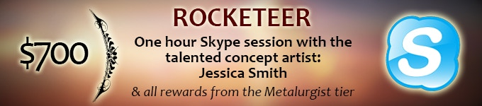 Renowned concept artist, Jessica Smith, will be available to talk about art, her work and more.