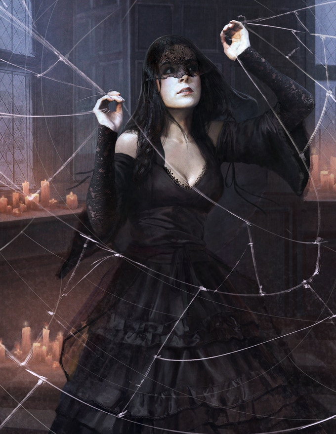 Magdalena Salvaza, a Fate Witch