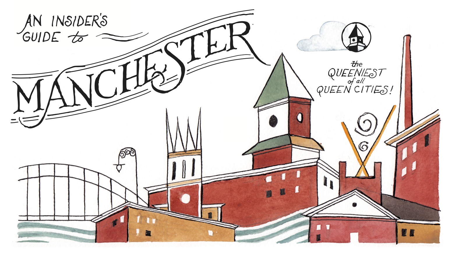 The first-ever printed guidebook to New Hampshire's Queen City.
