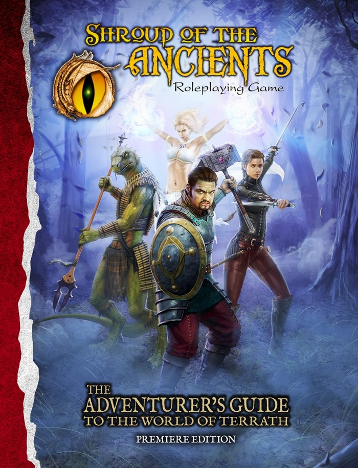 Adventurer's Guide Core Book for Shroud of the Ancients RPG by