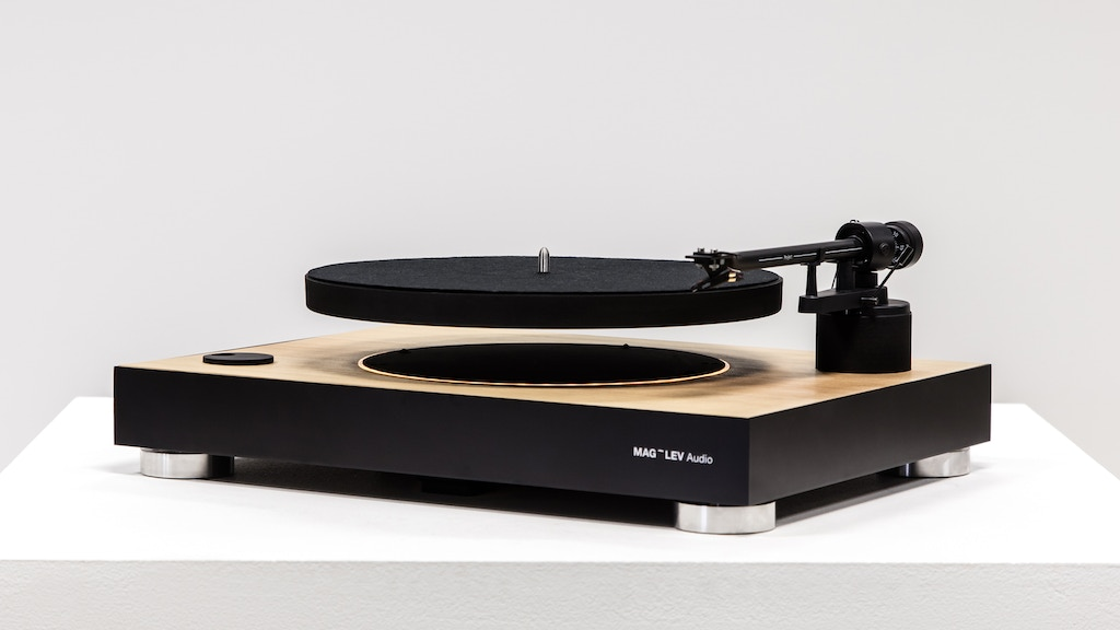 MAG-LEV Audio | The First Levitating Turntable project video thumbnail